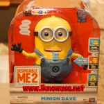 Minion Dave Editor Collection 9-inch Talking Figure - Dave Talk Back**ขายดี**