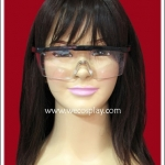 แว่นตาพลาสติก กรอบสีดำ Fancy Cosplay Glasses