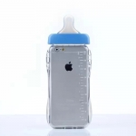เคสไอโฟน 6 Plus / 6s Plus (TPU Case เคสนิ่ม) ขวดนมสีน้ำเงิน