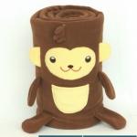 ผ้าห่มม้วน ลิง (Monkii) ยี่ห้อ Minojo ## พร้อมส่งค่ะ ##