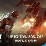 PSN Store US - Flash Sale 70-80%