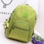 *Pre Order* New kipling nylon bag Korean version of casual shoulder backpack ผ้าไนล่อนกันน้ำ ขนาด 37x27x11 cm.