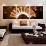 ภาพพัดจีนใหญ่แต่งบ้าน arthome33