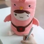 ผ้าห่มม้วน นกส่งสาส์น (Letter Birdie) ยี่ห้อ Minojo ## พร้อมส่งค่ะ ##