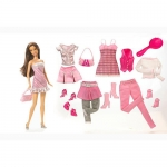 Exclusive Barbie Fashion Doll Clothing Set - Spring Time - Theresa