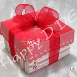 ของชำร่วย กล่องกระดาษโน๊ต สำเร็จรูป ลายวินเทจ ลายน่ารัก