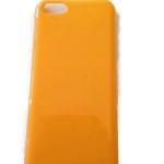 เคสไอโฟน5C กรอบแข็งสีเหลือง (Hard Case)
