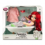 Disney Animators' Collection Ariel Doll Deluxe Bathtub Gift Set - 16''