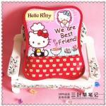 Mouse Pad (ที่รองเม้าส์) ขนาด 25*19 CM ลาย Hello Kitty สีแดง