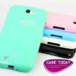 เคส Samsung Note2 Jelly Case TPU จาก Mercury