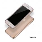 เคสไอโฟน 7 (เคสนิ่มประกบ) ป้องกัน 360 องศา สีดำใส
