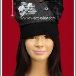 หมวกพังค์ แบล็คคาร์ฟวิ่ง Black Carving Punk Hat
