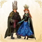 Anna and Kristoff Doll Set - Disney Fairytale Designer Collection