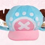 """หมวกช๊อปเปอร์ (New World) V.2 """"สีฟ้า"""""""