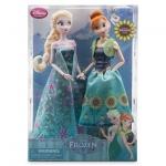 Anna and Elsa Dolls Summer Solstice Gift Set - Frozen Fever - 12''