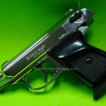 Ekol Major Walther PPK Chrome (สีเงิน ) cal.9mm.PAK. Blank gun