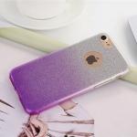 เคสไอโฟน 7 (TPU Case) เคสกากเพชรสีม่วง