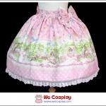 กระโปรงโกธิคโลลิต้า ลิตเติ้ลเกิร์ลแอนด์เบิร์ด Little Girl & Bird Gothic Lolita Skirt