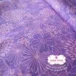 ผ้าคอตตอนไทย 100% 1/4 ม.(50x55ซม.) โทนสีม่วงชมพู