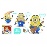 Minions Movie 8 Inch Talking Stuart with Guitar