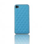 เคสไอโฟน 4/4s Hard Case เคสไอโฟนแฟชั่นสีฟ้า