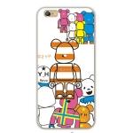 เคสไอโฟน 6 / 6s (TPU CASE) ลายหมี แบบ 3