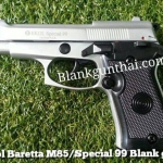 Ekol Beretta M85 Special 99 เงินด้าน Front Firing 9mm.PAK Blank Gun