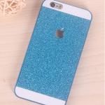 เคสไอโฟน 6 เคสไอโฟน Hard Case กากเพชรสีฟ้า