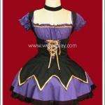 ชุดสาวน้อยเวทมนตร์ สีม่วง Violet Magical Girl Dress Fancy Costume