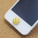 ปุ่มโฮมไอโฟน กระดุมสีเหลือง