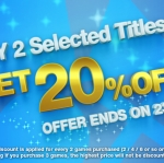 PSN Store Thai - Buy 2 Selected Titles & Get 20% Off
