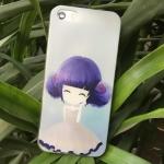 เคสไอโฟน 6 / 6s (TPU CASE) สาวเกาหลีน่ารัก แบบ 19