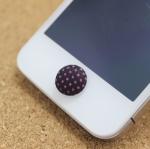 ปุ่มโฮมไอโฟน กระดุมสีดำ