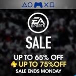 PSN Store US - EA Sports Sale