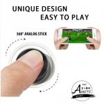 Mobile Joy Stick เล่นเกมมันส์กว่าเดิม หมดปัญหามือลื่นกดจอแล้วเดินไม่ติด ( 1 กล่อง มี 1 ชิ้น) ฟรี ถุงผ้าสีดำไว้เก็บ Joy