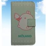 เคสไอโฟนกระเป๋าไอโฟน4/4s ลายกระต่าย MOLANG น่ารัก แบบ 1