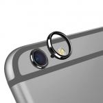 (สีดำ) วงแหวนป้องกันเลนส์กล้อง Iphone 6Plus/6sPlus