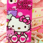 เคสไอโฟน 5/5s/SE Hard Case Hello Kitty