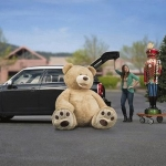 ตุ๊กตาหมีสก็อตต์ Scott Bear ไซส์ 2.6 เมตร
