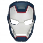 Iron Man Glow In The Dark Basic Mask - ARC FX Iron Patriot Hero Mask