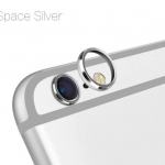(สีเงิน) วงแหวนป้องกันเลนส์กล้อง Iphone 6Plus/6sPlus