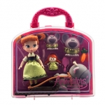 Disney Animators' Collection Anna Mini Doll Play Set - 5''