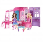 Barbie The Princess and The Popstar Princess Bedroom Playset