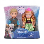 Disney Frozen 6-inch Anna and Kristoff Toddler Doll