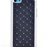 """เคสไอโฟน 5C """"Daimond Wave"""" สีดำ"""