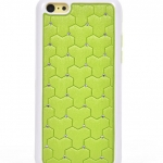 เคสไอโฟน 5C (Hard Case ขอบยาง) ประดับเพชร สีเขียว