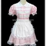 ชุดเมดพิงค์สวีทฮาร์ท Pink Sweetheart Maid Costume สีชมพู