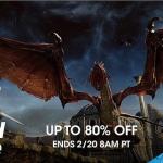 PSN Store US - Flash Sale Action Deals