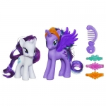My Little Pony Princess Figures 2-Pack - Luna and Rarity