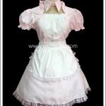 ชุดเมดพิงค์โลลิป๊อป Pink Lollipop Maid Costume สีชมพู
